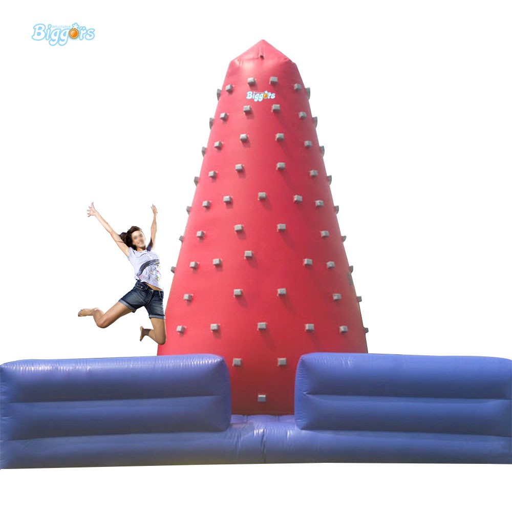 Inflatable Biggors Inflatable Climbing Wall With High Mattress For Children inflatable biggors high quality inflatable climbing town kids toy climbing wall games for rental