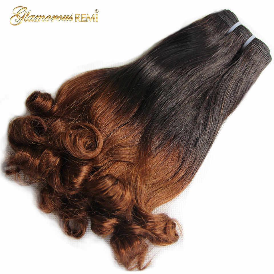 Перуанские кудрявые человеческие трессы 3 пучка Fumi локоны Фунми remy наращивание волос для черных женщин Бесплатная доставка 1b/30