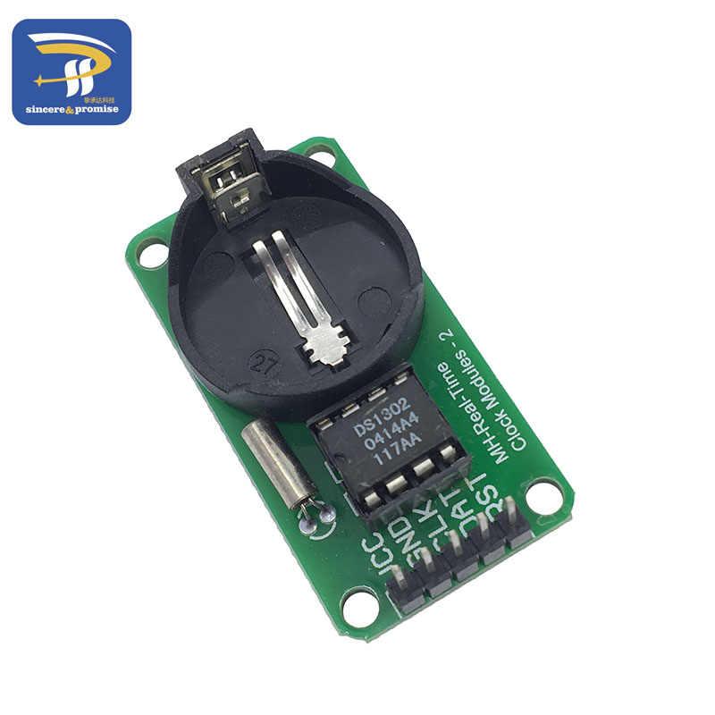 Inteligente eletrônica ds1302 módulo de relógio em tempo real para arduino uno mega placa desenvolvimento diy starter kit
