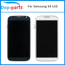 100Pcs For Samsung Galaxy S4 i9500 i9505 i9515 i337 LCD Display Touch Screen Digitizer Screen+Frame Assembly Replacement Parts все цены