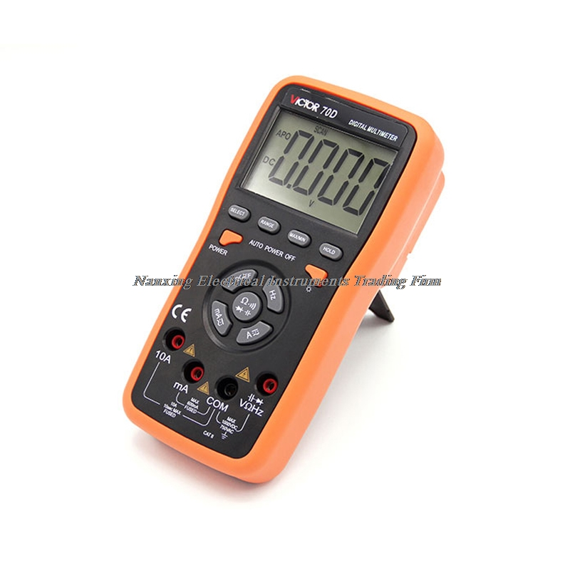 цена на VICTOR VC70F Digital Multimeter Intelligent multimeter automatic identification capacitance resistance band store