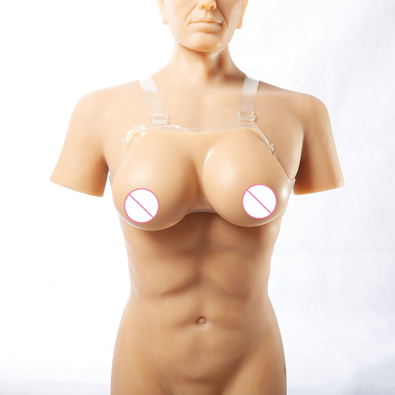 Image 3 - Realistic Silicone False Breast Forms Tits Fake Boobs For Crossdresser Shemale Transgender Drag Queen Transvestite Mastectomy