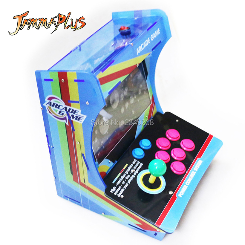 "10"" LCD Mini Arcade Joystick HEROES 5 2020 in 1 Games Fighting game console arcade console jamma MAME"