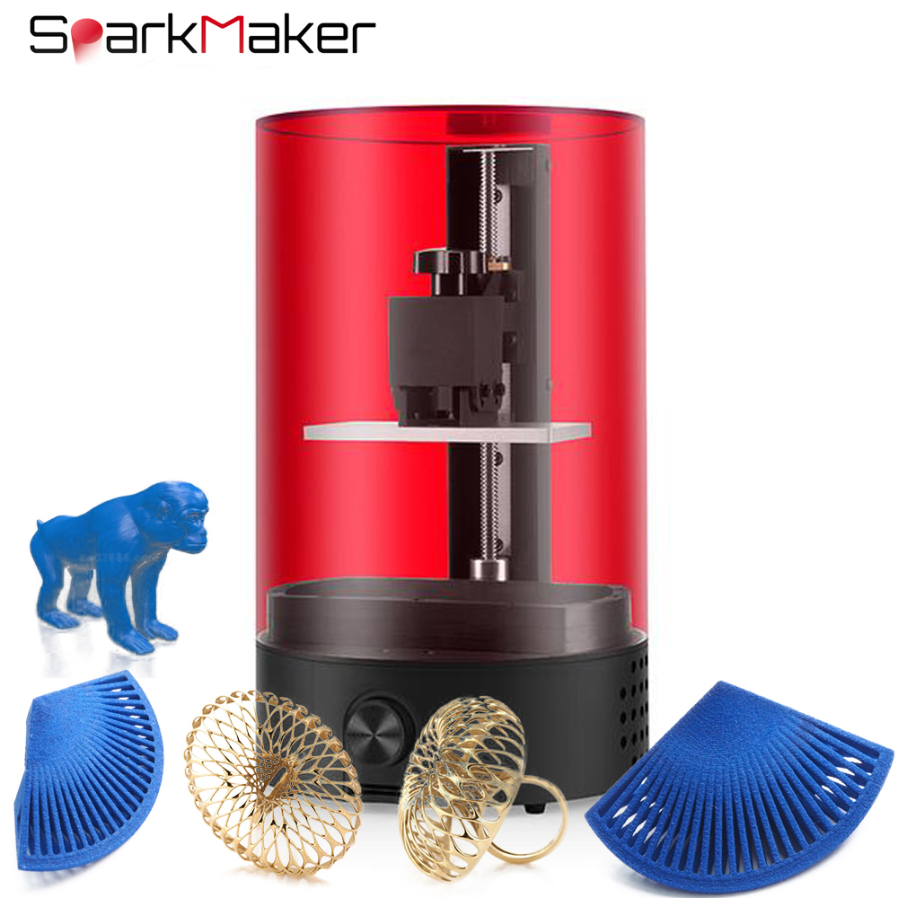 3d-Printer Jewelry Sparkmaker Desktop-Sla High-Presicion LCD DLP  title=