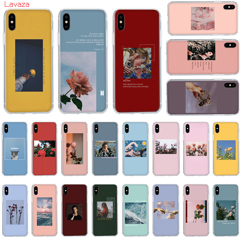 Lavaza Lock Screen Aesthetic Hard Phone Case For Apple