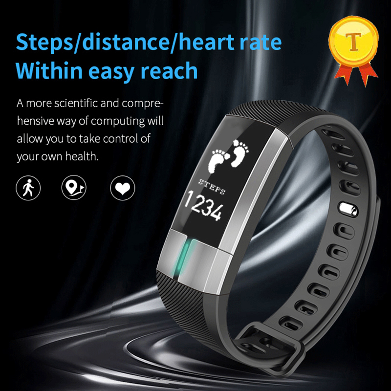 PPG +ECG Heart Rate Monitoring Smart Wristbands Blood Pressure Smart Bracelet Pedometer Sleep Monitor Fitness Sports Bracelet fentorn p3 smart band support ecg ppg blood pressure heart rate monitoring ip67 waterpoof pedometer sports fitness bracelet