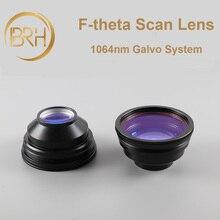 Brh f theta varredura lente de campo 1064nm varredura 50x50 300x300mm fl.63 420mm rosca m85x1 para peças de máquina de marcação a laser de fibra