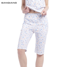 SANQIANG Women Homewear Pants Breathable Cotton Pajamas Ladies Leisure Pants Loo
