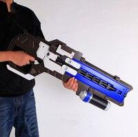 [Новинка] Большой размер моделирование для игры OW герой Солдат 76 опору пистолет D. va необычная маска импульсный пистолет оружие Косплей игру