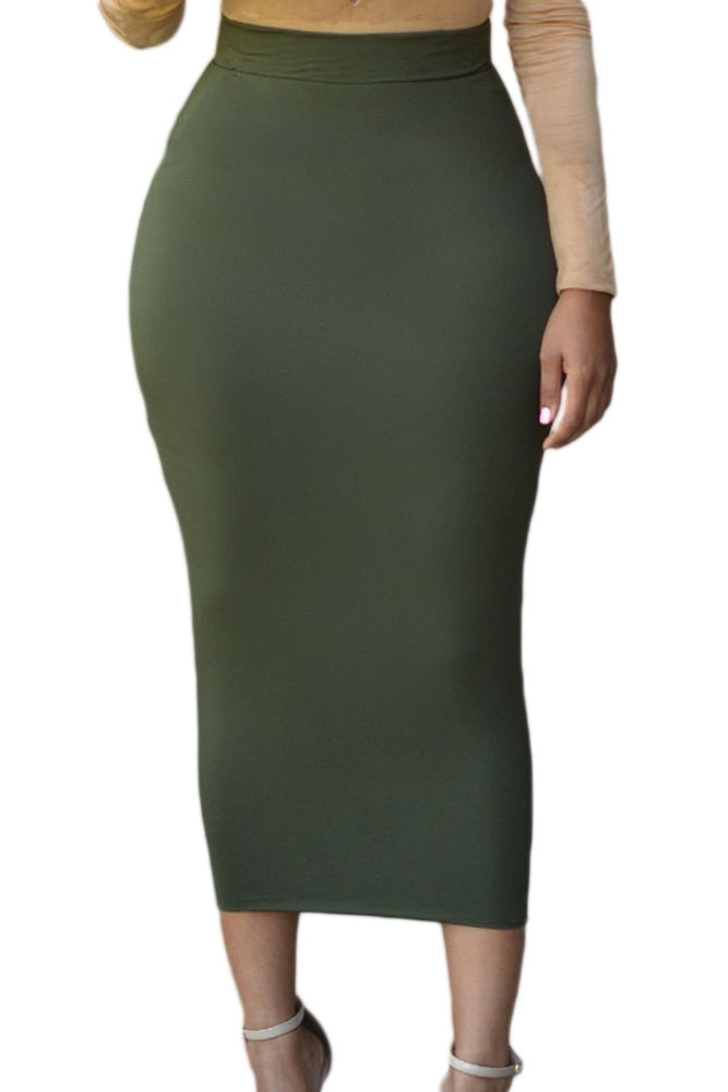 Popular Black Maxi Pencil Skirt-Buy Cheap Black Maxi Pencil Skirt ...