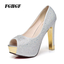 FGHGF Female Band Tracking Single Shoes Thin Heels Platform Summer Sexy Sweet Solid Color Banquet Party Rubber Ladies