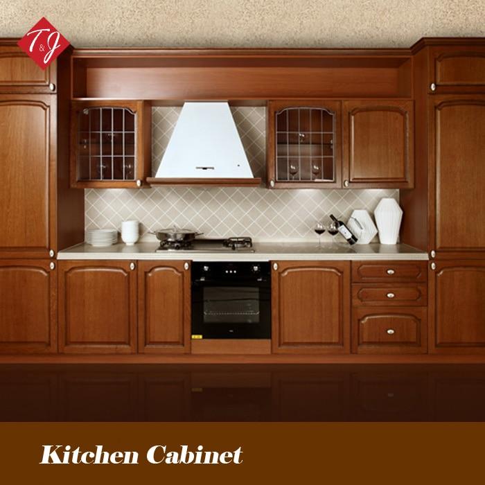 Dise o libre eco friendly madera franc s muebles de cocina Disenos de muebles de cocina en madera