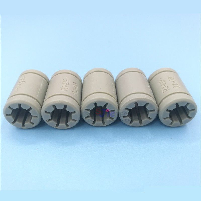 Solid Polymer LM8UU Bearing 8mm shaft Drylin RJ4JP-01-08 for Anet Reprap Prusa i3 3D Printer