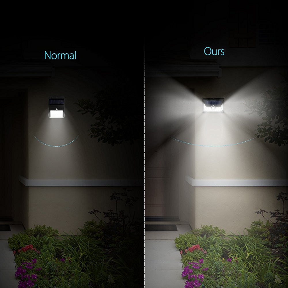 Litom 24 led solar light wide angle security motion sensor light litom 24 led solar light wide angle security motion sensor light wireless waterproof garden driveway outdoor solar powered lamp in solar lamps from lights aloadofball Images