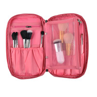 Pro Makeup Brush Bag Cosmetic Tool Brush Organizer Holder Pouch Pocket Kit Cosmetic Bags Cosmetic Bags