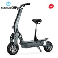 2019 New 1000W 48V Brushed Motor Chain Drive Adult Folding Electric Citycoco Scooter/Mobility with LED Lights