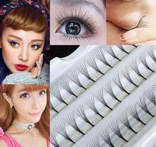 240Pcs Makeup Individual false lashes Cluster Eye Lashes Grafting Fake natural false eyelashes mink cilios eyelash extension недорого