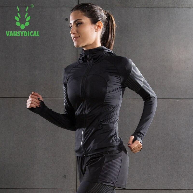 2017 Women Running Jacket Coat Sweaters Sports Jogging Jogger Training Fitting Fitness Exercise Shirt Gym Long Sleeve Jackets все цены
