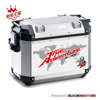 For HONDA Africa Twin CRF1000L Camouflage Case Cover Stickers Side Case Set Decals Waterproof M 24