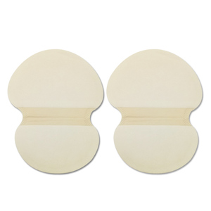 Image 2 - 100 pcs Underarm Armpit Sweat Pads Summer Disposable Absorbing Anti Perspiration Deodorant Unisex Shield Wholesale For Pads