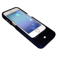 New 2500mAh USB Portable External Extra Backup Battery Charger Power Bank Powerbank Case Cover Pack for iPhone 5 5S w/ 4 LED
