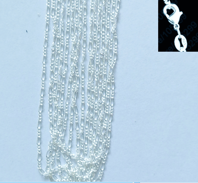 """wholesale 925sterling solid Silver 5PCS X 2mm snake chain Necklace 16-24/"""""""