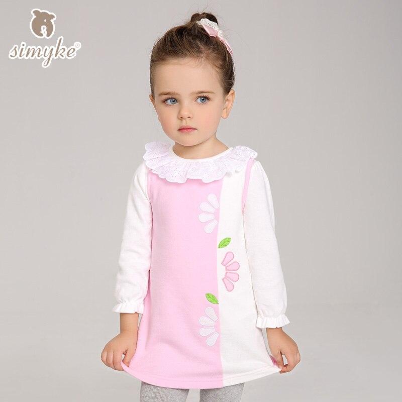 Dresses For Girls Kids Clothes Girls 2017New Spring Sleeveless Dress Kids Clothing Children's Dress W8078