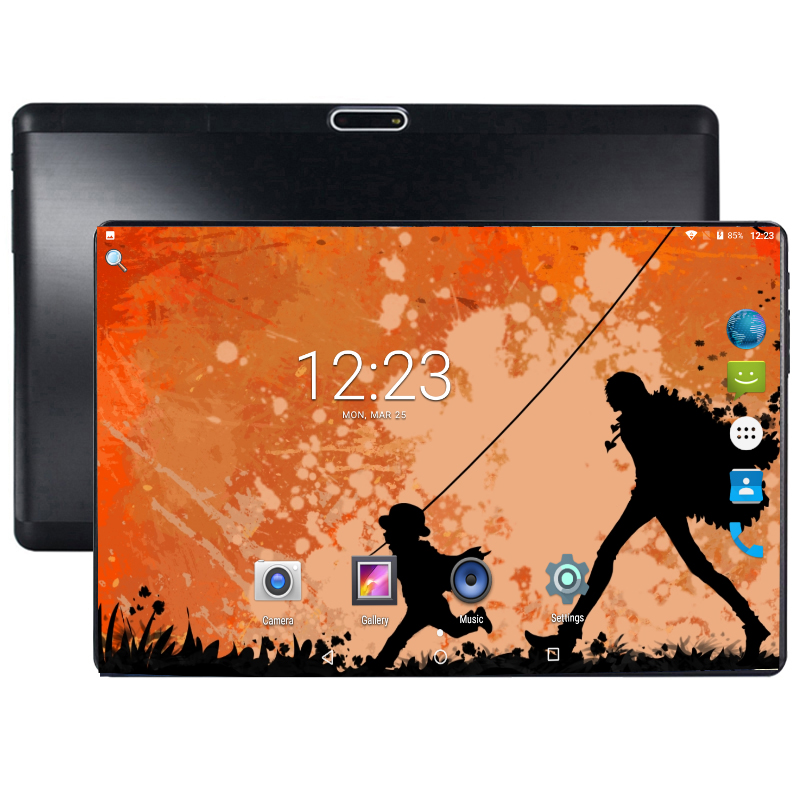 2019 Tempered Glass Tablet PC 10 Inch 4GB RAM 64GB ROM 1280x800 Android 8.0 3G 4G LTE Phone Kids Tablets 10.1 Octa Core Pad