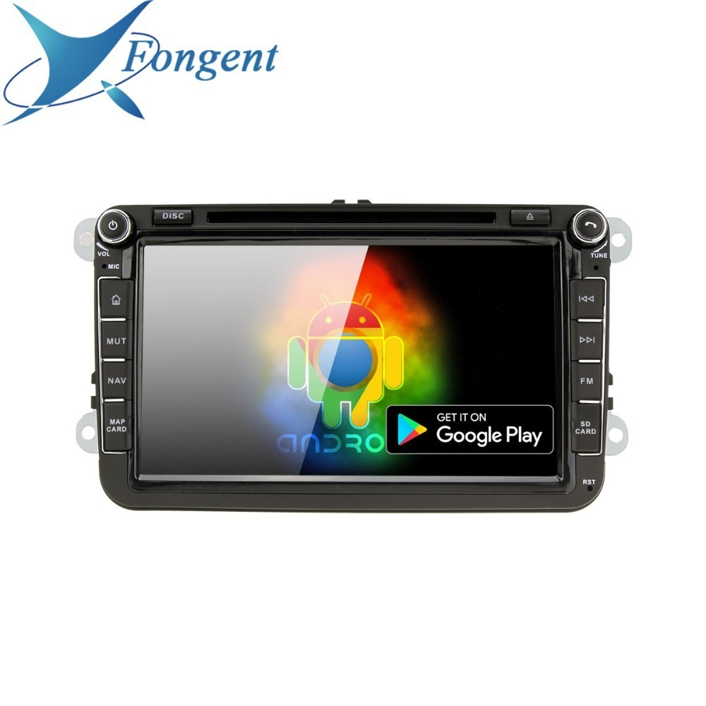 For VW <font><b>Passat</b></font> <font><b>B6</b></font> B7 Jetta Caddy Tiguan Golf Polo Skoda Yeti Superb Android 9.0 Car DVD GPS Stereo Unit Radio Multimedia Player image