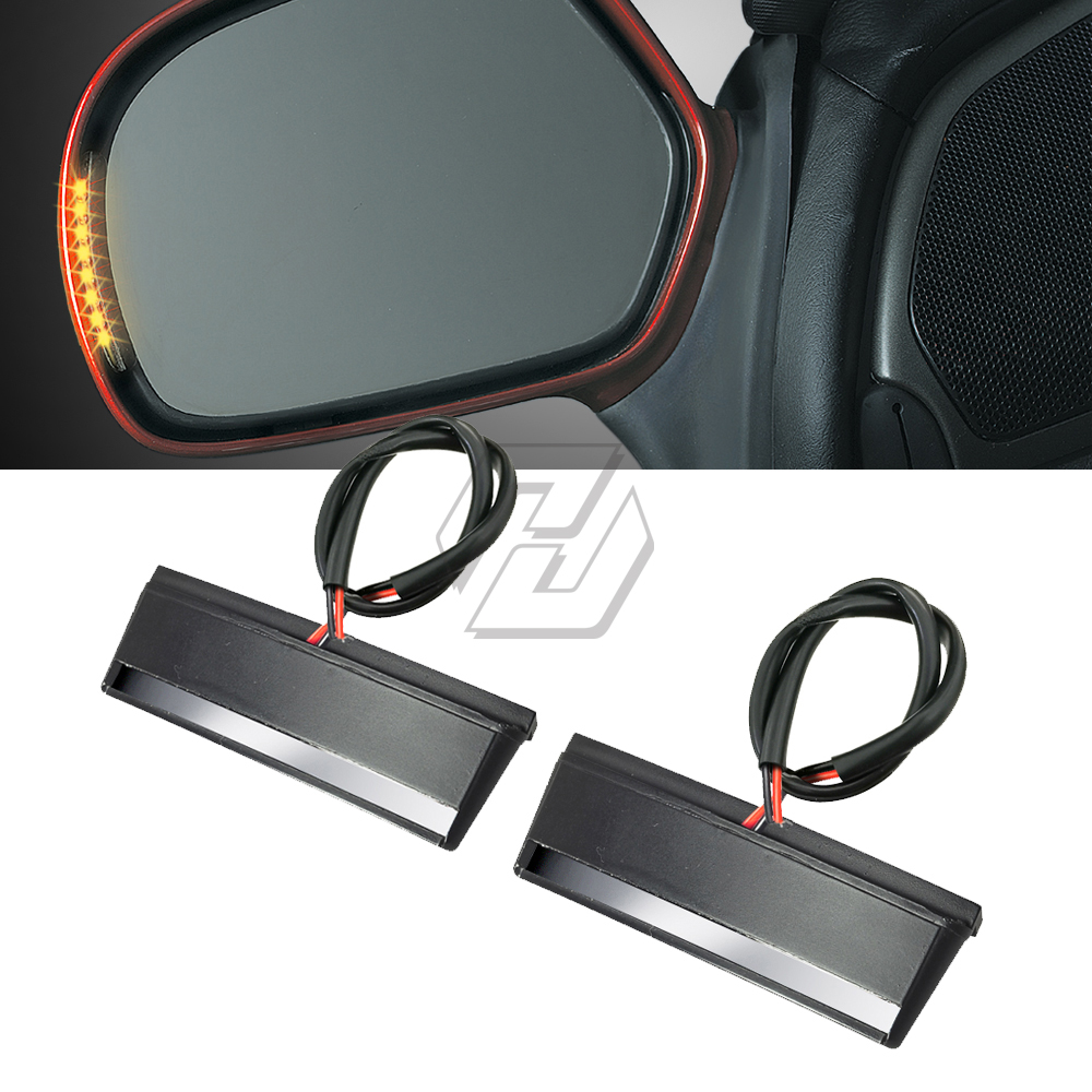 Motorcycle LED Mirror Light Trun Signal Case for <font><b>Honda</b></font> <font><b>Gold</b></font> <font><b>Wing</b></font> GL1800 ABS <font><b>GL</b></font> <font><b>1800</b></font> 2001-2017 image
