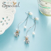 Special European and American long earring women s 925 silver needle multi-style earrings for  S1848E