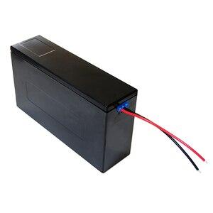 Image 2 - Contenitore di batteria al litio 13S6P 48V 20Ah li ion cassa di batteria + supporto + nichel + 13S 20A BMS Per 18650 batteria