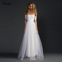 2017 Sweetheart Lace Long Bride Dresses Gowns Sexy Off Shoulder Ball Gown Beach Dress Plus Size