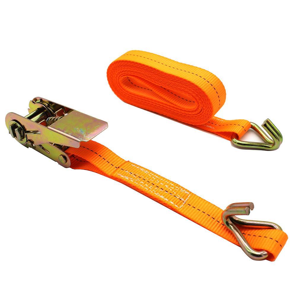 1pcs Car Cargo Fasteners Car Luggage Cargo Polyster Tape Bind Auto Bundling Strong Strap Belt Ratchet Tie 4m 6m Length