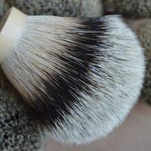 DS 26 мм Высокая горная щетка для бритья волос барсука узел для мужчин ручка щетки Мягкая натуральная головка щетки
