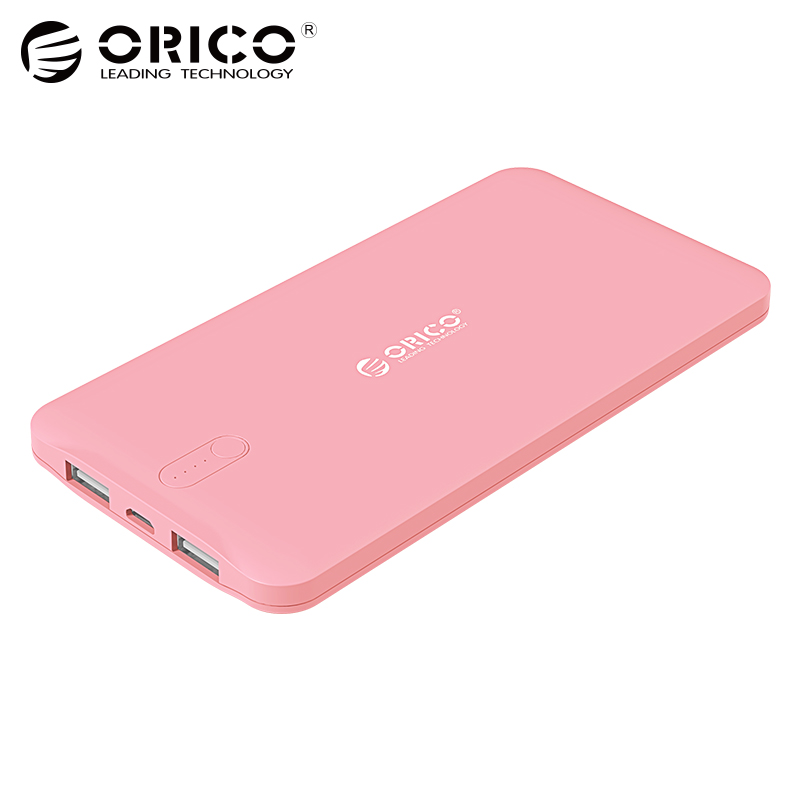 ORICO 10000mAh USB Universal portable Charger External Mobile Backup font b Powerbank b font Battery for
