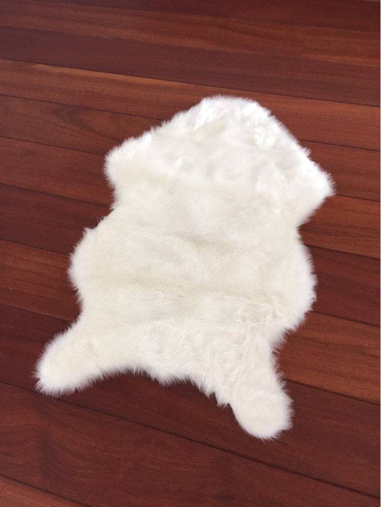 Soft Chair Cover Sofa Cover Man Made Fur Rug Bedroom