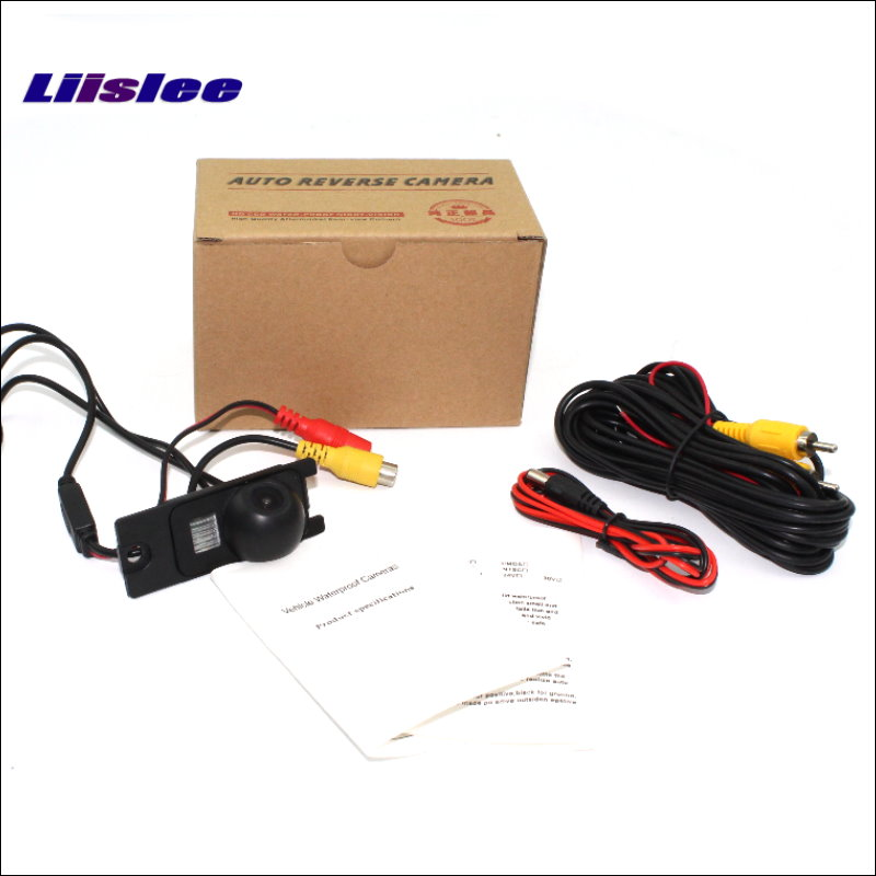 Liislee Rear View Reverse Camera Backup Parking Camera For Volvo S60 S60L 2001~2009 / HD CCD / License Plate Light Install