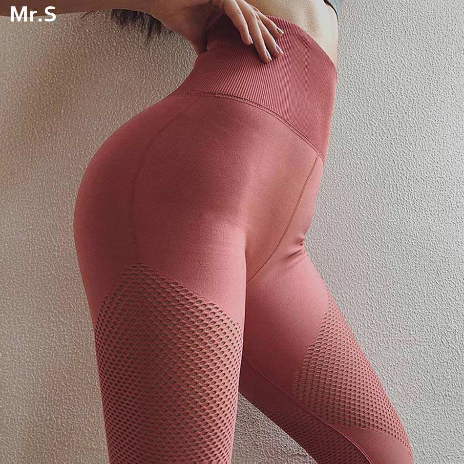 High waist yoga pants energy seamless yoga leggings tummy control gym leggings wokout scrunch butt sport leggings red pants