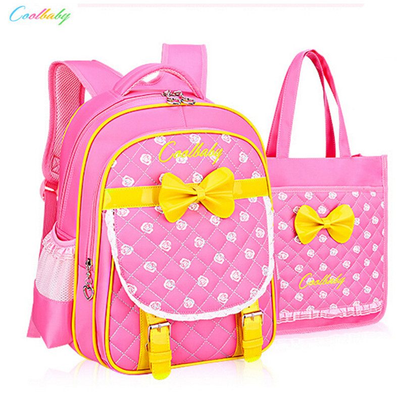 ФОТО Mochilas Schoolbags 2016 Children School Bags For Girls Backpack Kid Bag Girl Nylon Schoolbook Bag Free Shipping
