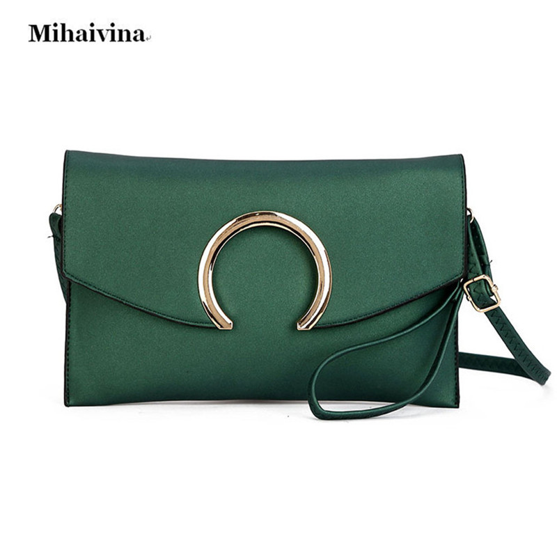 Fashion Women's Clutch Bag Leather Women Envelope Bags Clutch Evening Bag Female Clutches Handbag Lady Shoulder Messenger Bags simple fashion women handbag solid color clutch bag leather envelope bags ladies over shoulder package 88 wml99