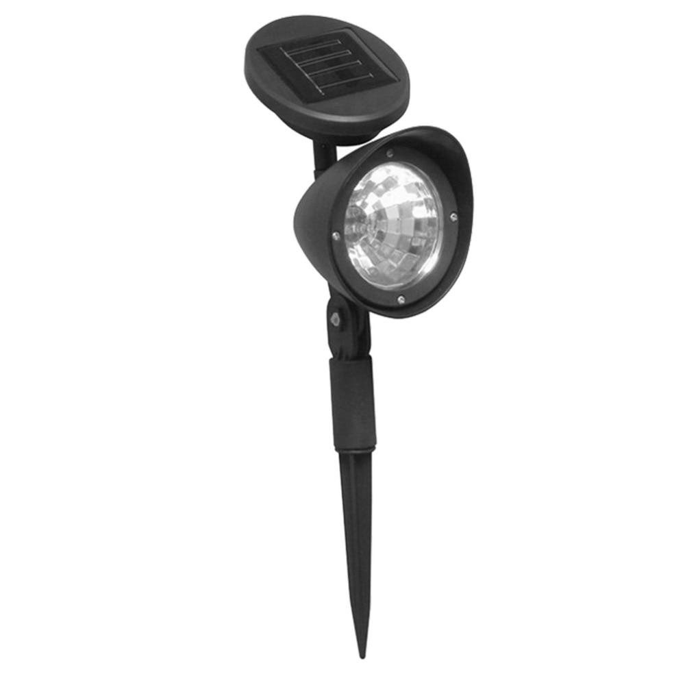 3 LED IP44 Solar Powered Spotlight Outdoor Garden Landscape Lawn Yard Path Spot Light Decor Auto On Light Lamp