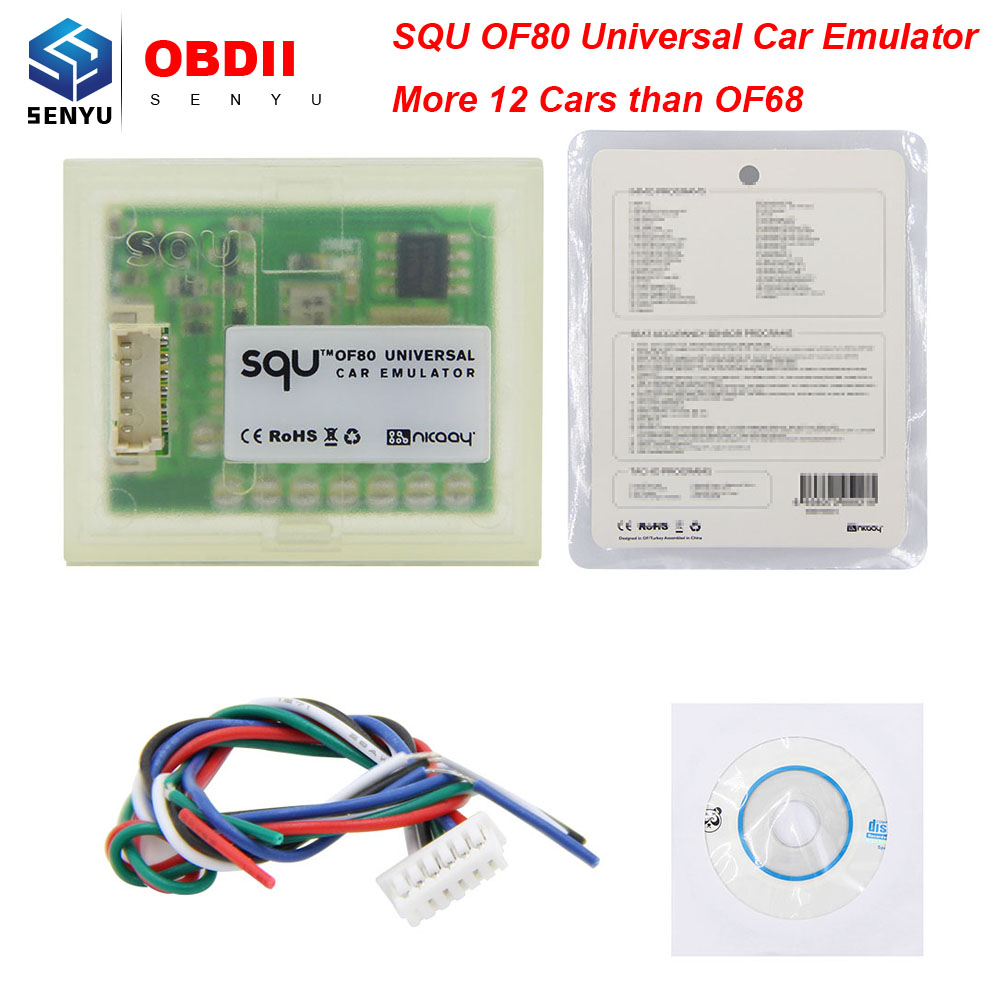 Squ Of68 Universal Car Emulator Supports Immo/seat Occupancy Sensor/tacho Programs C Back To Search Resultsautomobiles & Motorcycles