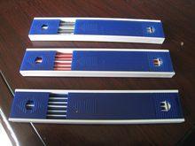 Fils de crayon mécanique, 2mm, 1 douzaine, recharge automatique 5B 4B 3B 2B B HB H 2H 3H 4H, noir bleu rouge, porte-plomb mines No.1160