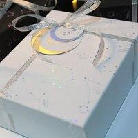 Caixa do pacote de presente de aniversário caixa de presente quadrada plus-size exquisite Europeia criativo presente romântico namorada namorado festival ins