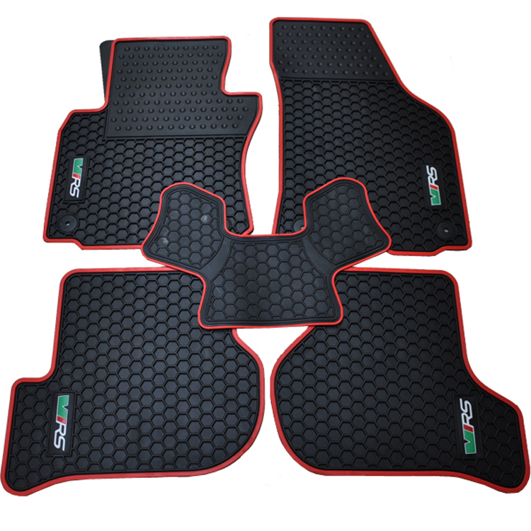 ФОТО special waterproof rubber texture mat original position snap dedicated bridge car floor carpets for SkodaOctavia / RS