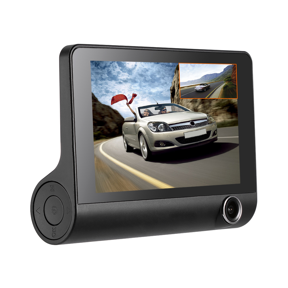 Dashcam DVR Car DVRs Dash Cam Registrar Auto Camera Video Recorder Camcorder Three Lens Night Vision/ Loop Recording Auto-logger