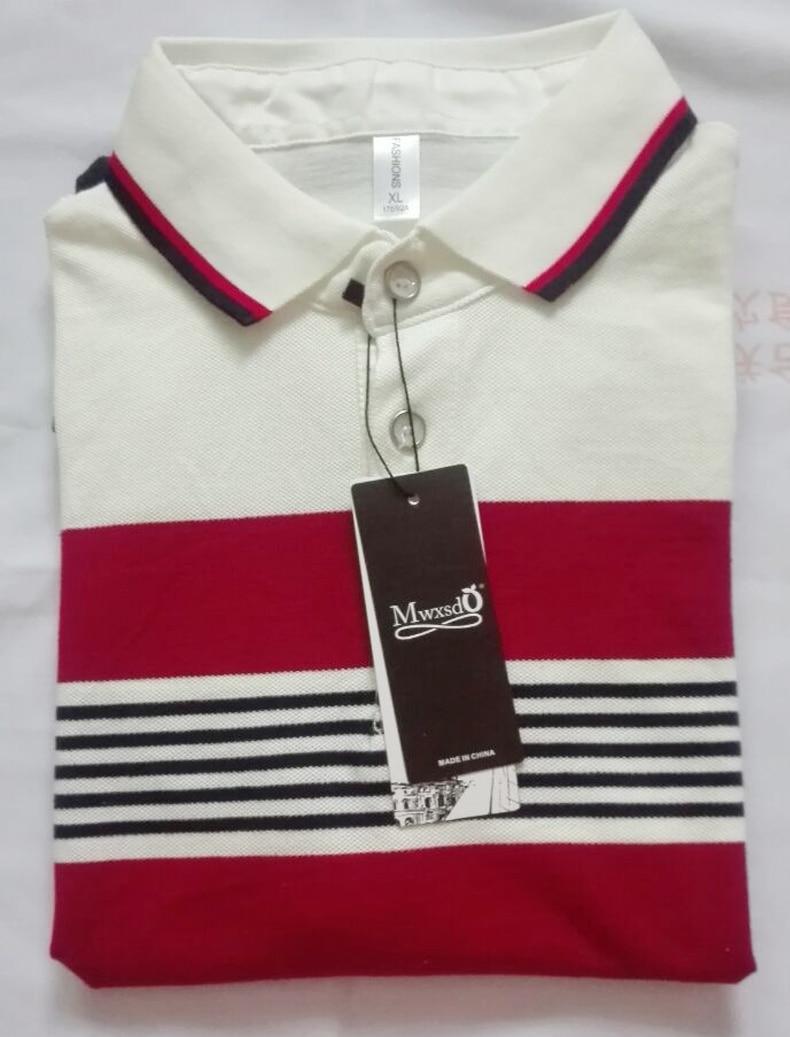 Mwxsd marca de calidad superior del verano de los hombres polo camisa - Ropa de hombre - foto 5