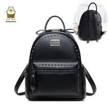 0845891348e4c Beibaobao 2019 Frauen Fanshion Rucksäcke Hohe Qualität Schule Taschen Für  Mädchen Arbeit Dame Taschen Pu Leder