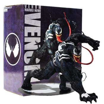 13cm Avengers Amazing Spiderman Venom ARTFX + STATUE 1/10 Scale Pre-Painted Model Kit PVC Action Figure Model Collection Toy